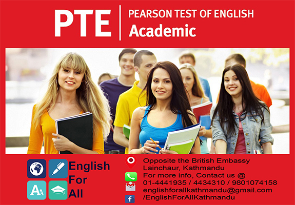English For All PTE (Pearson Test of English)
